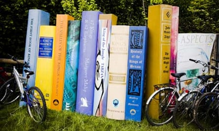 Bike blog: Books and bicycles at 2008 The Guardian Hay Festival