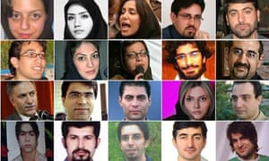 Some of the people killed or arrested since the 12 June presidential election in Iran