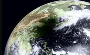 Satellite eye on Earth: Eclipse Shadows Southeastern China