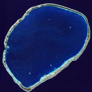 Satellite eye on Earth: Tikehau Atoll, French Polynesia