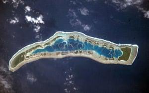 Satellite eye on Earth: Millennium Island, Kiribati