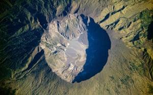 Satellite eye on Earth: the Tambora Volcano , Indonesia