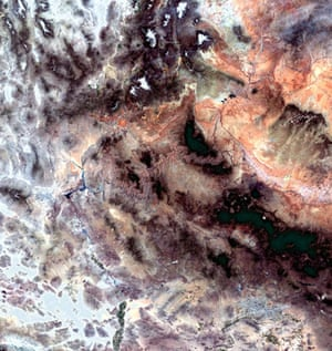 Satellite eye on Earth: The Grand Canyon, one of the seven natural wonders of the world