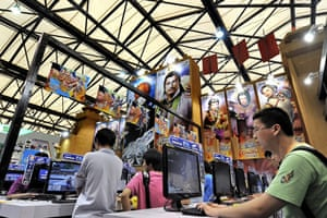 China Digital Expo: Visitors try new video games
