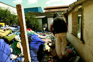 Eritrean refugees Calais: South Africa House