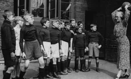 Children in Bradford in 1936