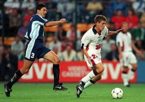 Michael Owen : England Argentina