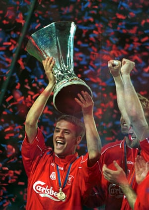 Michael Owen : Liverpool v Alaves
