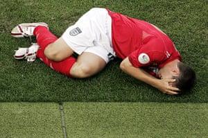 Michael Owen : Owen injury