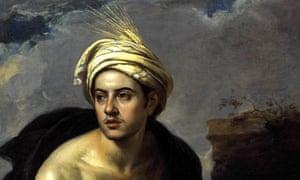 Esteban Murillo - A Young Man with a Basket of Fruit