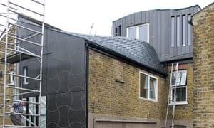 Tom Lipinski's eco renovation nears completion in west London