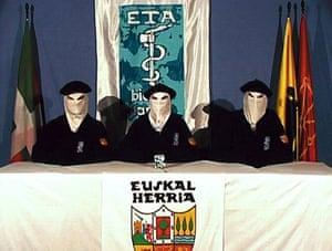 History of ETA: 2006: Ceasefire video released by the Basque separatist group ETA