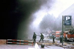 History of ETA: CAR BOMBING IN BARCELONA, SPAIN - JUN 1987