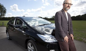 Toby Litt test-drives the new Toyota Prius hybrid car