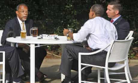 Barack Obama, Henry Louis Gates Jr.,  James Crowley