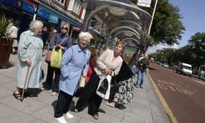 pensioners travel free