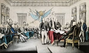 Lithograph of 'The Declaration of Independence, July 4th, 1776'