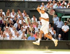 Tennis: Men's singles final Federer vs Roddick