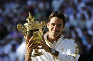 Trophy: Federer