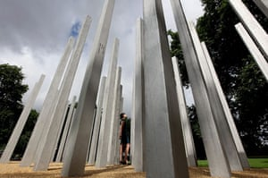 7/7 memorial Hyde Park: A Memorial To The Victims Of The 7/7 Bombings Is Unveiled