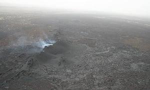Lava field in Afar, Ethiopia