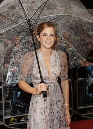 Harry Potter premiere: Harry Potter premiere: Emma Watson
