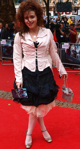 Harry Potter premiere: Harry Potter premiere: Helena Bonham Carter