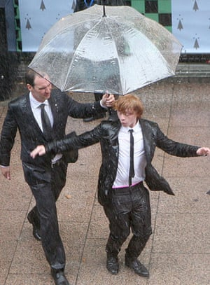 Harry Potter premiere: Harry Potter premiere: Rupert Grint