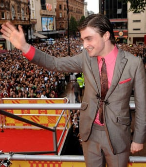 Harry Potter premiere: Harry Potter premiere: Daniel Radcliffe