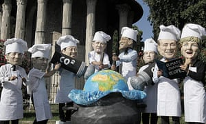 G8 summit protesters