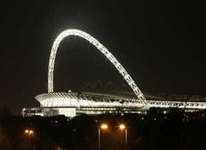 Football stadia: Wembley