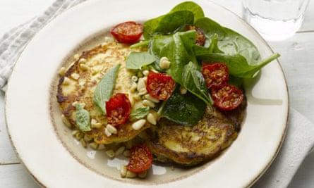 New vegetarian: Ricotta hotcakes