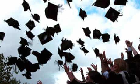 Graduation day at a university