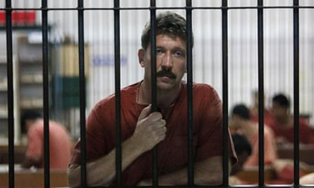 Suspected Russian arms dealer Viktor Bout