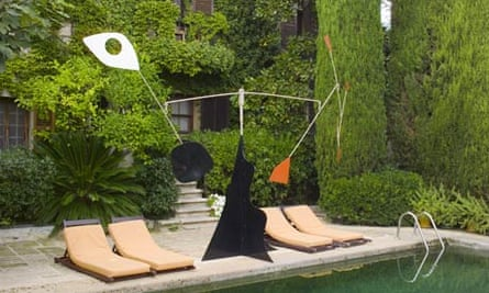 The Colombe D'Or in St Paul de Vence