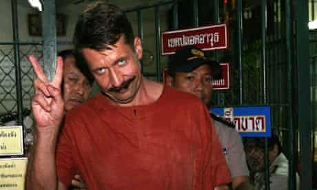 Viktor Bout leaves criminal court in Bangkok