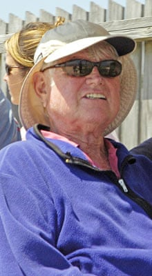 Ted Kennedy out and about in Hyannis Port, Massachusetts, America - 30 Jul 2009