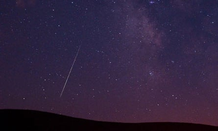 The Perseid meteor shower happens every August