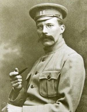 Arthur Ransome: Arthur Ransome in his press corps uniform