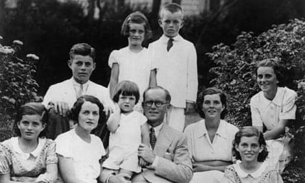 Kennedy family portrait