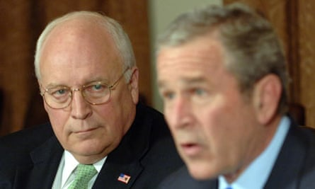 Bush considered dumping Cheney in 2004 presidential race | George Bush |  The Guardian