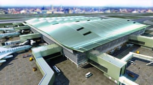 Airport design: new £1bn Terminal 2 at Heathrow airport, designed by Norman Foster
