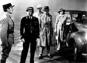 Airport design: Casablanca (1942) starring Humphrey Bogart and Ingrid Bergman