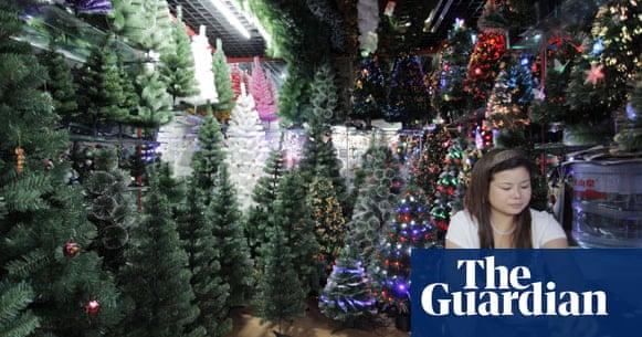 China S Christmas Industry Adapts To New World Economic