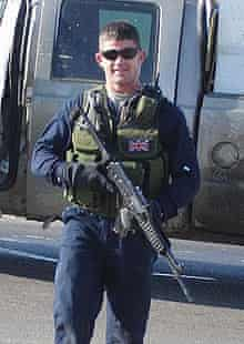 Danny Fitzsimmons, the security contractor accused of killing two colleagues in Iraq.