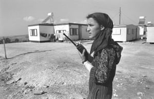 Israel-Palestine timeline: 1987. Establishment of Jewish settlements on Palestinian land continued