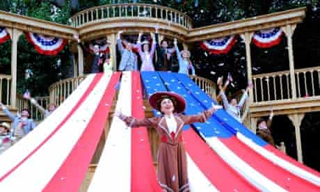 Samantha Spiro in Hello, Dolly! at the Open Air Theatre, Regent?s Park.