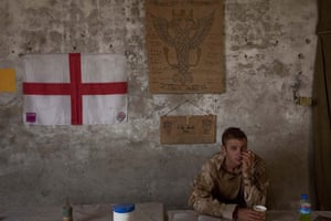 Sean Smith in Afghanistan: A British soldier at FOB Jakers