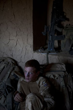 Sean Smith in Afghanistan: 27 June 2009: At the patrol base