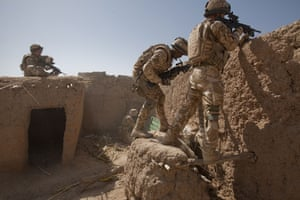 Sean Smith in Afghanistan: 27 June 2009: Coming under fire whilst on patrol